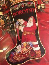 Cross Stitch Janlynn Santa's Toy Bag Stocking Kit 125-223 Free Postage
