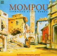 FEDERICO MOMPOU - COMPLETE PIANO WORKS 4 CD NEU MOMPOU,FEDERICO