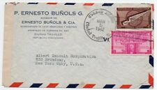 Dominican Republic 1942 censored cover to NY