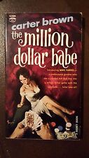 "Carter Brown, ""Million Dollar Babe,"" 1961, Signet S1909, NF, 1st"