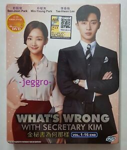 Korean Drama DVD What's Wrong With Secretary Kim (Vol. 1-16 End) ENG SUB R0