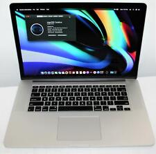 "15.4"" Apple MacBook Pro Retina i7 16GB 256GB Catalina Dual Intel Iris AMD Graphc"