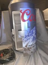 Mancave Gameroom Coors Light 8-can Can Shaped Beverage Cooler Refrigerator
