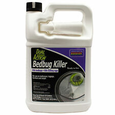 Bed Bug Spray Killer Fast Acting Kills Bed Bugs and The Eggs Non-Staining 1 Gal