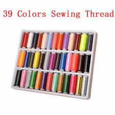 39 Colors/lot High Quality Sewing Thread Home Embroidery Sewing Machine Line Box