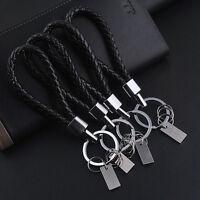 Fashion Men Leather Key Chain Ring Keyfob Car Keyring Keychain Creative Gift GTA