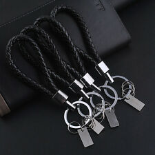 Fashion Men Leather Key Chain Ring Keyfob Car Keyring Keychain Creative Gift GTA