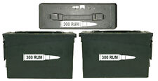 300 RUM ammo box( bullet DECALS) NO BOX INCLUDED Four decals included