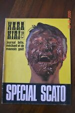 revues HARA KIRI - lot de 3 numéros dont détail en annonce.
