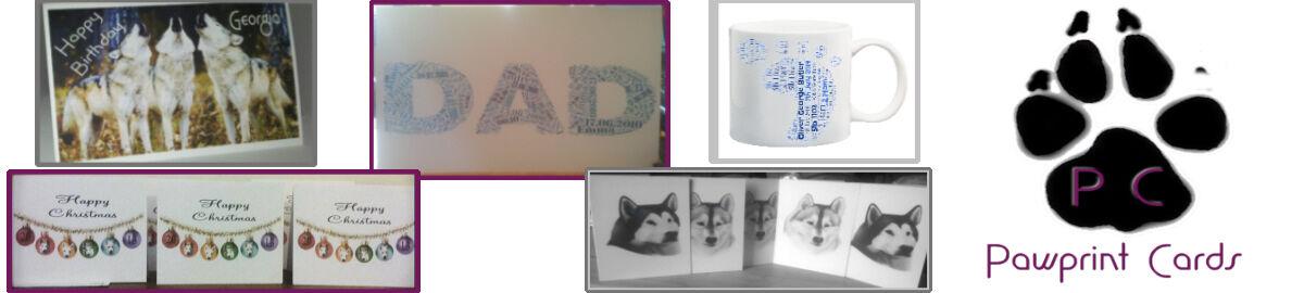Pawprint Cards