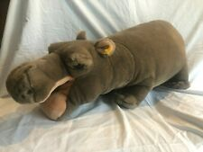 "RARE Steiff Original: ""Mocky"" the Hippopotamus #063480 Germany"
