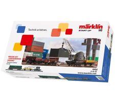 **Märklin 44452 H0 AC Wagenset Containerverladung passend zu Set 29452, Neu**