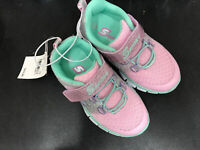 Skechers Kids Sport, Girls Light Weight Sneaker Pink Grey Size 7