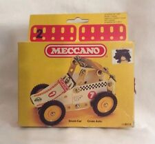 1981 MECCANO Stock Car Cross Auto Erector France Unused Original 086111 G2