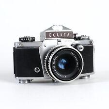 ^Exakta TL VX1000 35mm Film Camera w/ Carl Zeiss Jena Tessar 50mm f2.8 [READ]