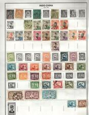 1¢ WONDER'S ~ INDO- CHINA MINT & USED LOT ON PAGES ALL SHOWN ~ G614