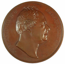 Great Britain 1830 ACCESSION OF WILLIAM IV by William Wyon bronze 68mm BHM 1414