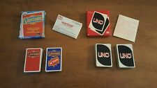 1979 UNO & 1985 Vantage Card Games (Complete with all cards and instructions)