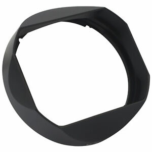 Haoge Bayonet Lens Hood Shade with Cap for Sony FE 35mm F1.4 GM Lens Black