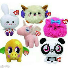 """Moshi Monsters 6"""" inch TY Beanies Plush Soft Toy Beanie Babies Collection New UK"""