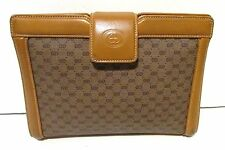 Authentic Vintage GUCCI Clutch Messenger Cross Body Shoulder Bag Purse Handbag