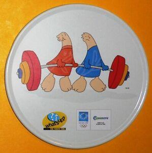 2004 Olympic Games Athens SPONSOR COSMOTE Athena & Phevos COASTER Weightlifting