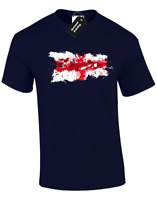 ENGLAND PAINT SPLASH MENS T-SHIRT FOOTBALL FAN RUGBY PATRIOTIC DESIGN (COL)