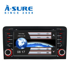 Autoradio Audi A3 2003-2011 S3 RS3 Car DVD Player GPS Navi Ipod BT SD USB 2 DIN