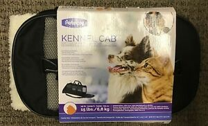 "Petmate Soft Sided Kennel Cab Pet Carrier - Black Large - 20""L x 11.5""W x 12""H"