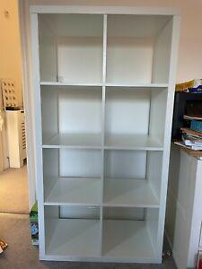 Ikea Kallax 8 box shelving unit