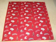 Washington State Cougars NBA Fabric Bandana For You or Your Dog/Pet! NEW
