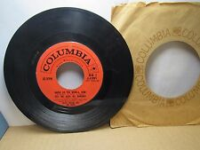 Old 45 RPM Record - Columbia 4-41991 - Mitch Miller - Where Do You Work-a, John