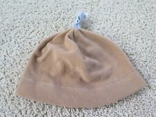 NWT NEW Old Navy WOMEN'S Performance FLEECE HAT Beanie Tan Khaki Brown OSFM