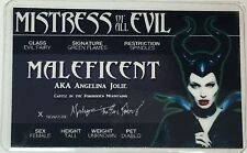 Maleficent - Angelina Jolie - Mistress of All Evil - License - Novelty
