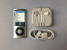 Apple iPod nano 5th Generation Silver (8GB) mint