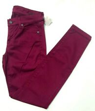 7 For All Mankind Violet Skinny Jean 25 NWT