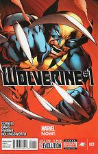 Wolverine #1 (NM)`13 Cornell/ Davis