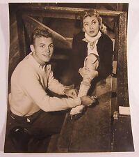 Original Tab Hunter Studio Photo Warner Bros Hollywood Lori Nelson Vintage 1955
