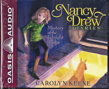 NEW Nancy Drew Diaries Mystery of the Midnight Rider Carolyn Keene Audio Book 3