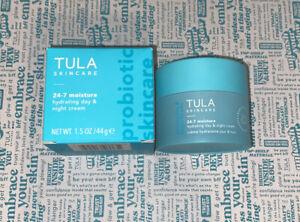 TULA Skincare Probiotics Moisturizer- Hydrating Day & Night Cream 1.5 oz-(NIB)