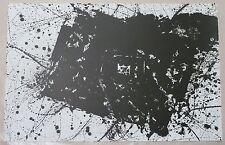 Sam Francis, Lithograph, Large Abstract Image, 1977