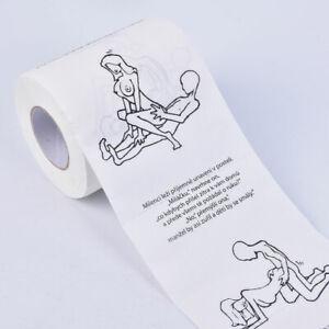 Creative Toilet Paper Rolls Funny Joke Numbers Sexy Girls Bath BathroomM!