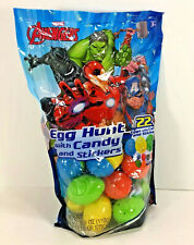 NW AVENGERS Candy Stickers Christmas EGGS Hunt Game Party FAVORS Container Gifts