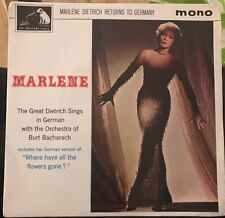 "Marlene Dietrich Marlene Dietrich Returns To Germany UK 45 7"" EP +Picture Sleeve"