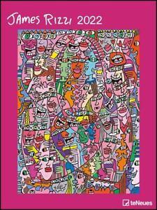 James Rizzi 2022 - Kunst-Kalender - 48x64