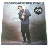 Robert Cray - Strong Persuader - Vinyl LP UK 1st Press A1/B1 EX+/EX+