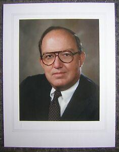 Commissioner of Baseball Fay Vincent Original 8x10 Color Studio Portrait Photo