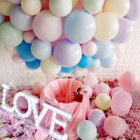 Lot of 100 10pcs Latex Macaron Candy Colored Balloons Wedding Party Birthday 10""