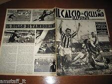 IL CALCIO E CICLISMO ILLUSTRATO 1963/3=STACCHINI=JUVENTUS CAMPIONE D'INVERNO=