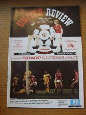 01/12/1982 Manchester United v Southampton [Football League Cup] . Item In very